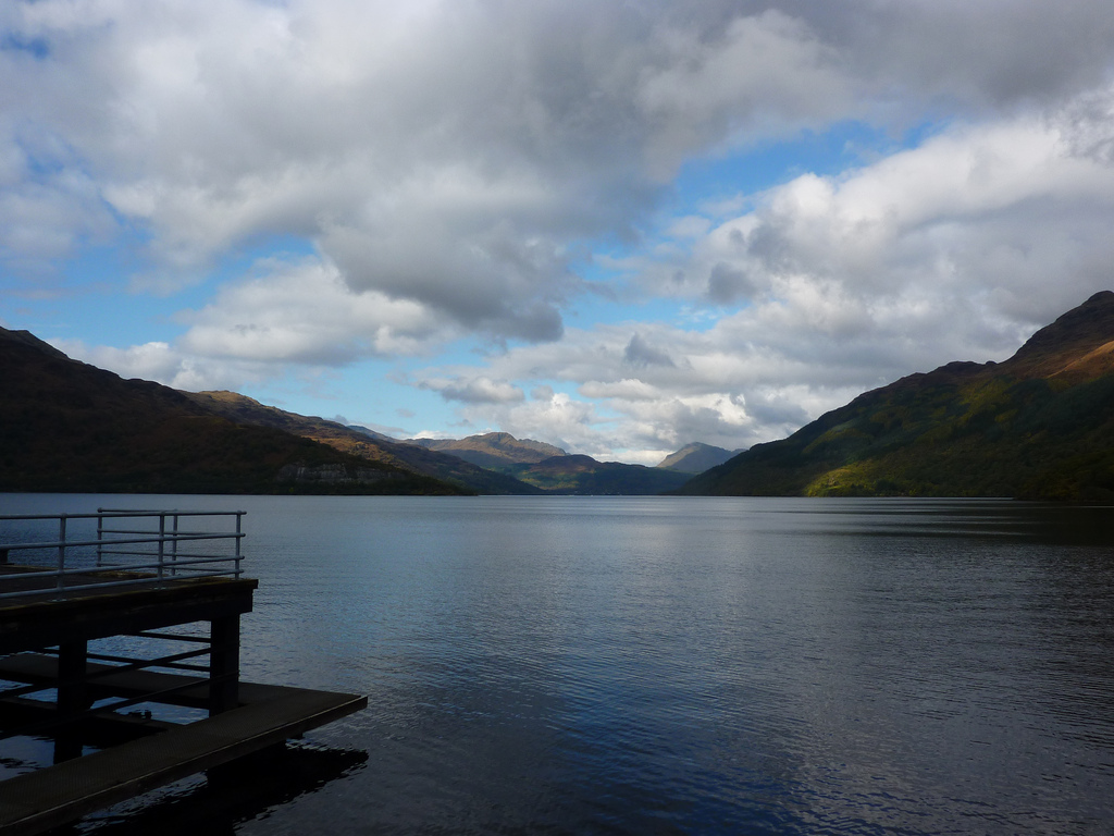 clouds over Loch lomond